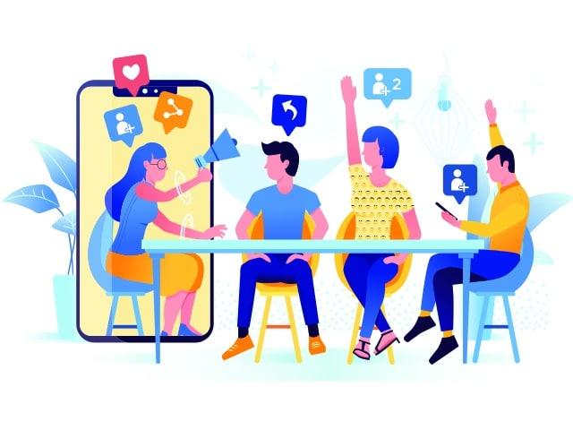 Determine the collaboration structure